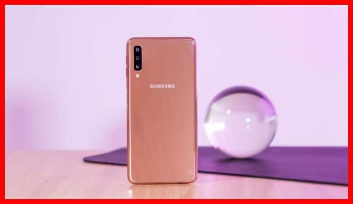 Kamera Samsung Galaxy A7 2018