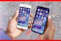 Perbandingan iPhone X vs iPhone 8