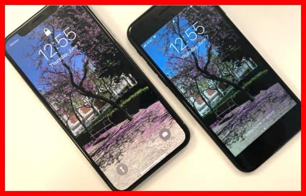 Perbedaan iPhone X vs iPhone 8