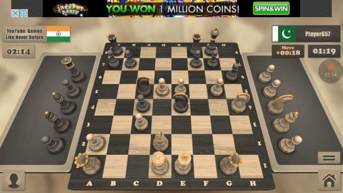 Chess game caturr offline android