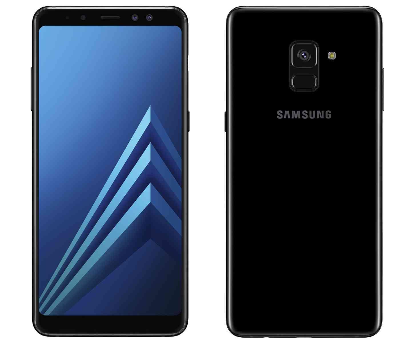 Hp Android Dual kamera depan selfie Samsung Galaxy A8