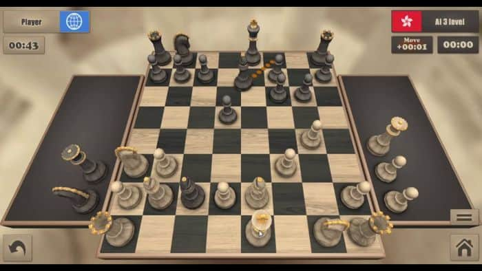 real chess game catur android