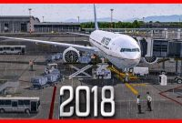 game simulasi pesawat android Flight Sim 2018