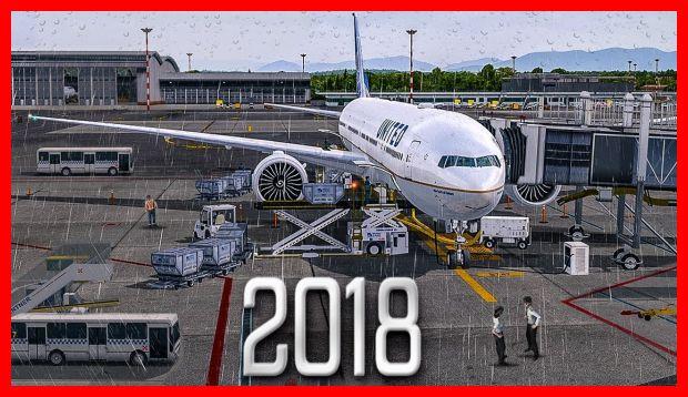 game simulasi pesawat android Flight Sim 2018