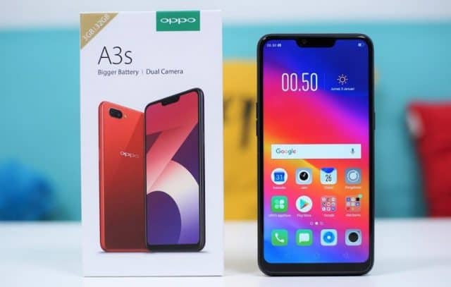 hp android terbaik murah oppo a3s