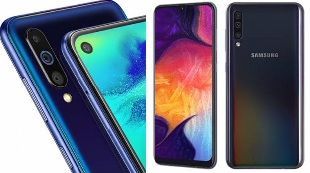 perbandingan Samsung Galaxy M40 VS Galaxy A50
