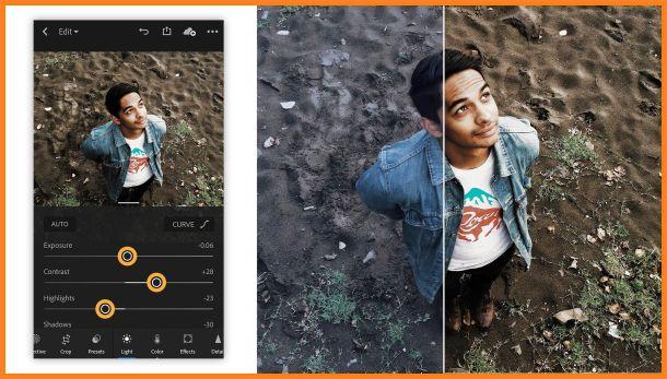 Gunakan aplikasi edit foto yang bagus