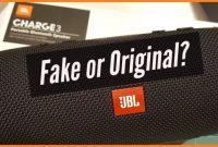 Perbedaan Speaker Portable Bluetooth JBL Asli dan Palsu