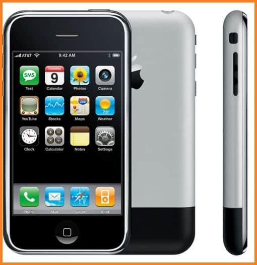 Gambar Hp Iphone generasi pertama