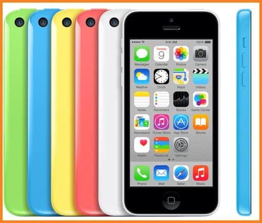 Gambar Hp iPhone 5C