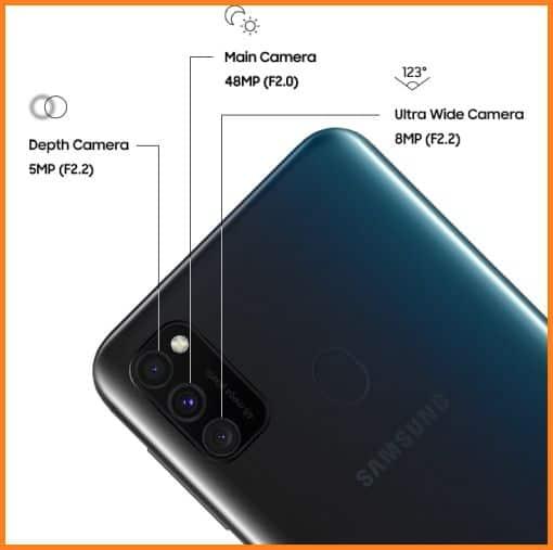 Kamera Samsung Galaxy M30s