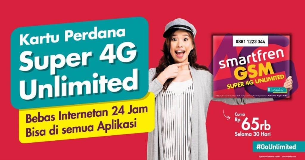 cara mempercepat jaringan smartfren 4g unlimited tidak lemot
