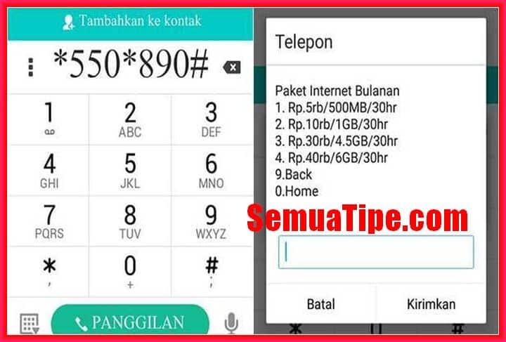 kode rahasia paket murah telkomsel